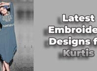 Latest Embroidery Designs for Kurtis