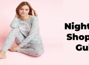 nightwear shopping